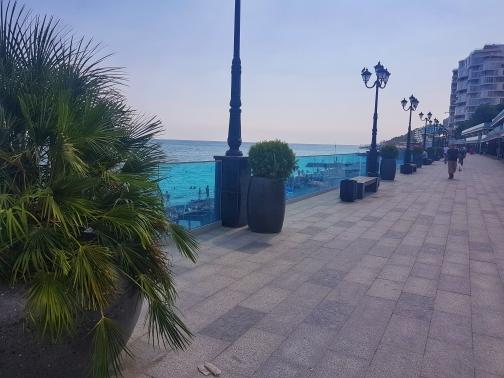 Новый приморский пляж
